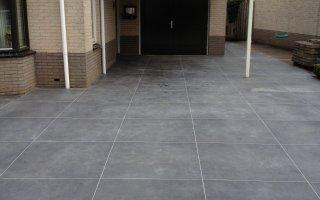 Tegels Voor Oprit : Opritten betonwerken nederland particulier